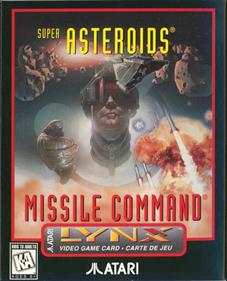 Super Asteroids & Missile Command - Box - Front