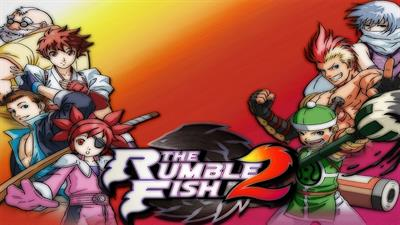 The Rumble Fish 2 - Fanart - Background