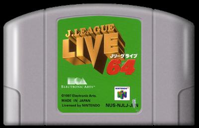 J.League Live 64 - Fanart - Cart - Front