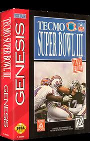 Tecmo Super Bowl III: Final Edition - Box - 3D