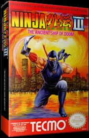 Ninja Gaiden III: The Ancient Ship of Doom - Box - 3D
