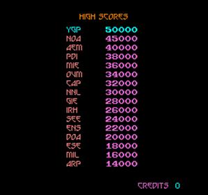 Snake Pit - Screenshot - High Scores