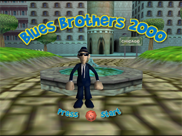 Blues Brothers 2000 - Screenshot - Game Title