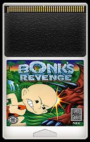 Bonk's Revenge - Fanart - Cart - Front