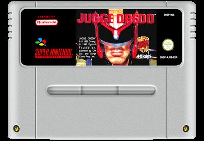 Judge Dredd - Fanart - Cart - Front