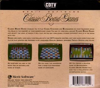 Classic Board Games - Box - Back
