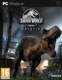 Jurassic World Evolution - Fanart - Box - Front