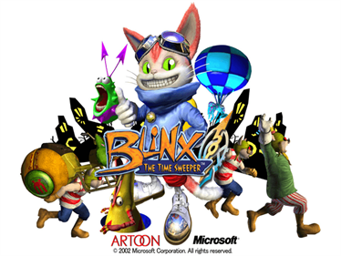 Blinx: The Time Sweeper - Screenshot - Game Title