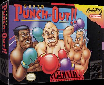 Super Punch-Out!! - Box - 3D