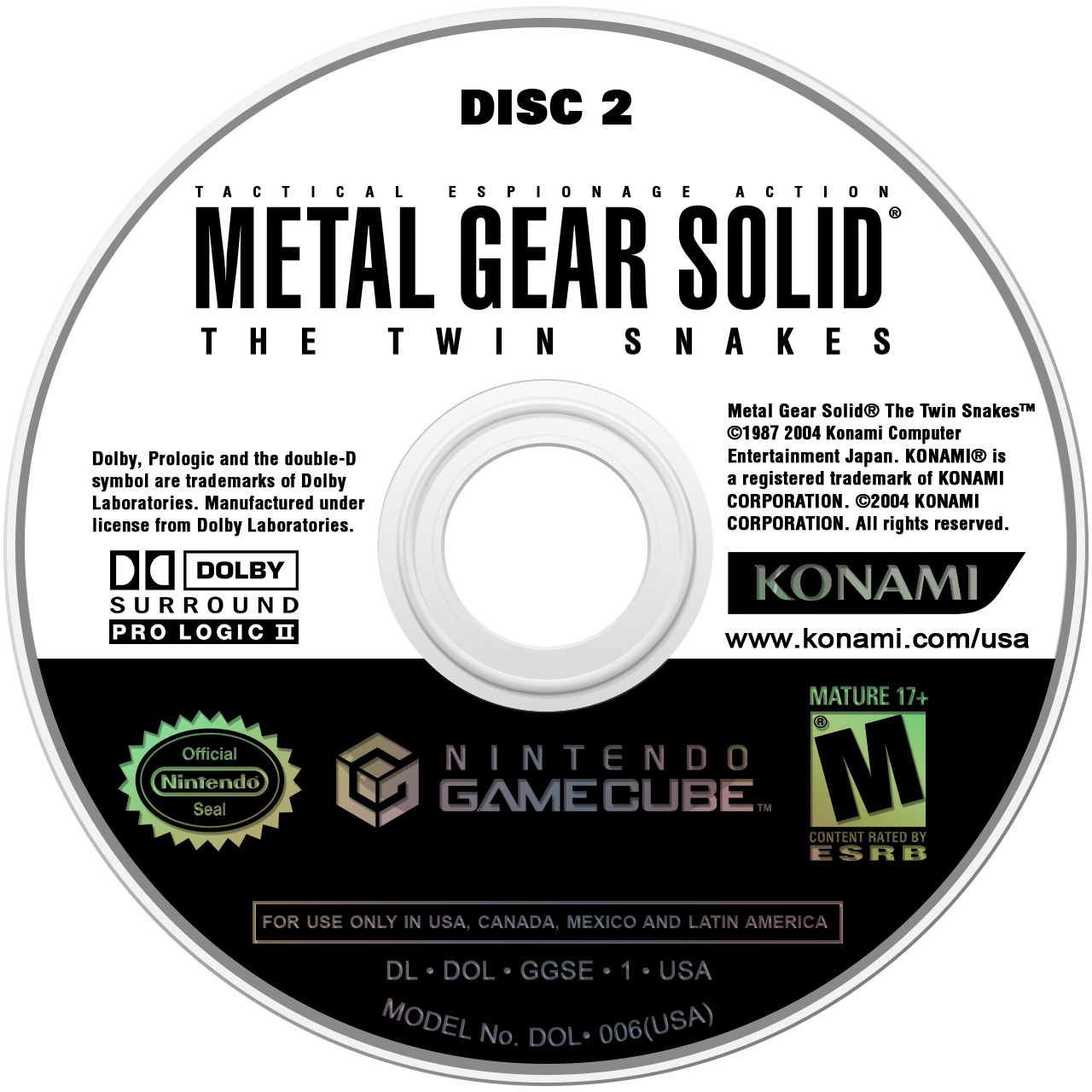 Metal Gear Solid: The Twin Snakes Details