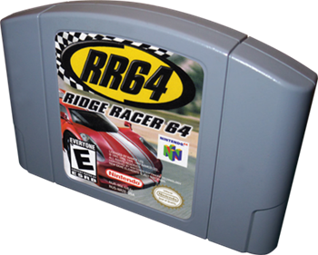 RR64: Ridge Racer 64 - Cart - 3D