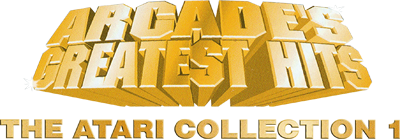 Arcade's Greatest Hits: The Atari Collection 1 - Clear Logo