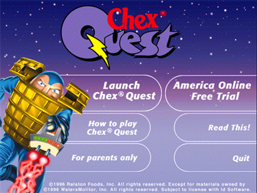 Chex Quest - Screenshot - Game Title