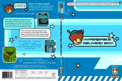 Hyperspace Delivery Boy! - Fanart - Box - Front