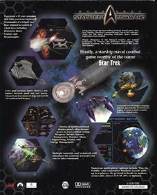 Star Trek: Starfleet Command - Box - Back