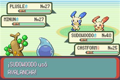 Pokémon Sapphire Version - Screenshot - Gameplay