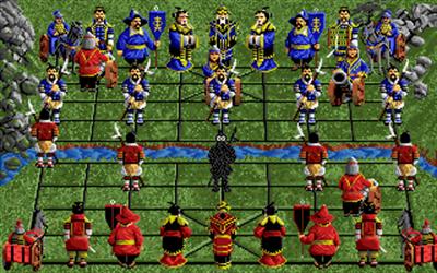 Battle Chess II: Chinese Chess - Screenshot - Gameplay