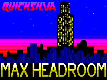 Max Headroom - Screenshot - Game Title