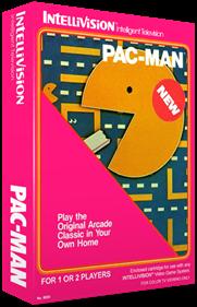 Pac-Man - Box - 3D