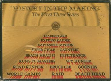 """History in the Making"": The First Three Years"