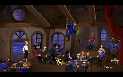 The Secret of Monkey Island: Special Edition - Screenshot - Gameplay