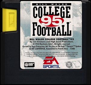 Bill Walsh College Football 95 - Cart - Front