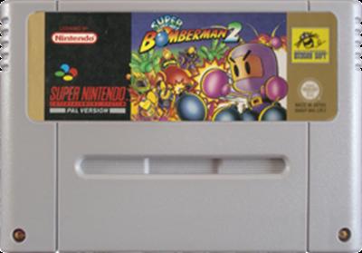 Super Bomberman 2 - Fanart - Cart - Front
