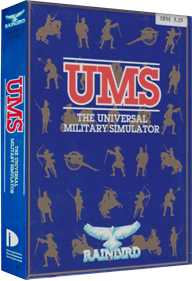 UMS: The Universal Military Simulator - Box - 3D