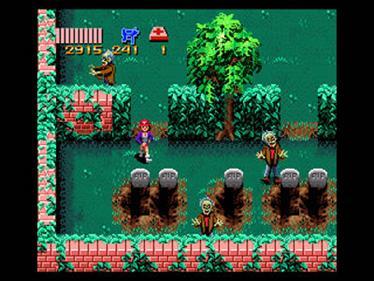 Zombies Ate My Neighbors - Screenshot - Gameplay