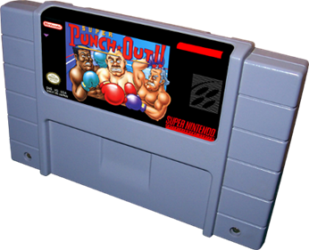 Super Punch-Out!! - Cart - 3D