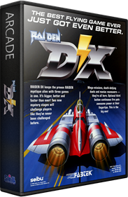 Raiden DX - Box - 3D