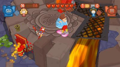 Fat Princess: Fistful of Cake - Screenshot - Gameplay