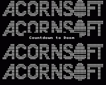 Countdown To Doom  - Screenshot - Game Title