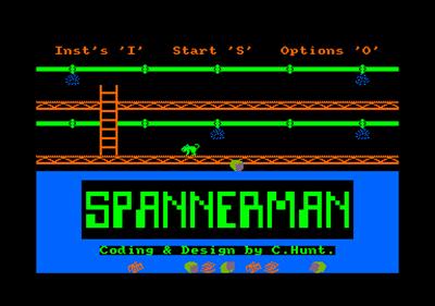 Spanner Man  - Screenshot - Game Title