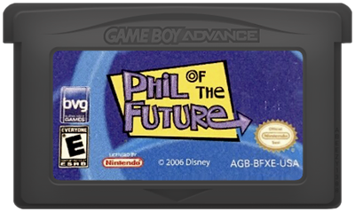 Phil of the Future - Cart - Front