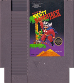 Mighty Bomb Jack - Cart - Front