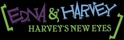 Edna and Harvey: Harvey's New Eyes - Clear Logo