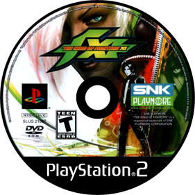 The King of Fighters XI - Disc