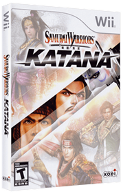 Samurai Warriors: Katana - Box - 3D