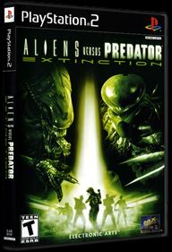 Aliens Versus Predator: Extinction - Box - 3D