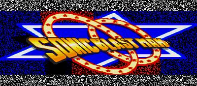 Sonic Blast Man - Clear Logo