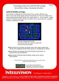 Lock 'n' Chase - Box - Back
