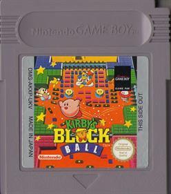 Kirby's Block Ball - Cart - Front