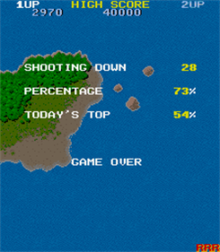 1942 - Screenshot - Game Over