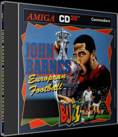 John Barnes European Football - Box - 3D