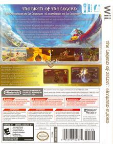 The Legend of Zelda: Skyward Sword - Box - Back