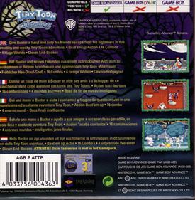 Tiny Toon Adventures: Scary Dreams - Box - Back