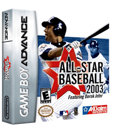 All-Star Baseball 2003 - Box - 3D