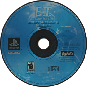 E.T. The Extra-Terrestrial: Interplanetary Mission - Disc