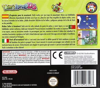 Yoshi's Island DS - Box - Back